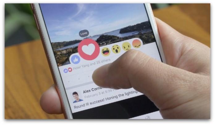 Reactii si Like-uri Facebook