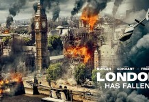 Cod rosu la Londra - London has Fallen