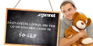 GSMNet.ro concurs voucher 50 de lei
