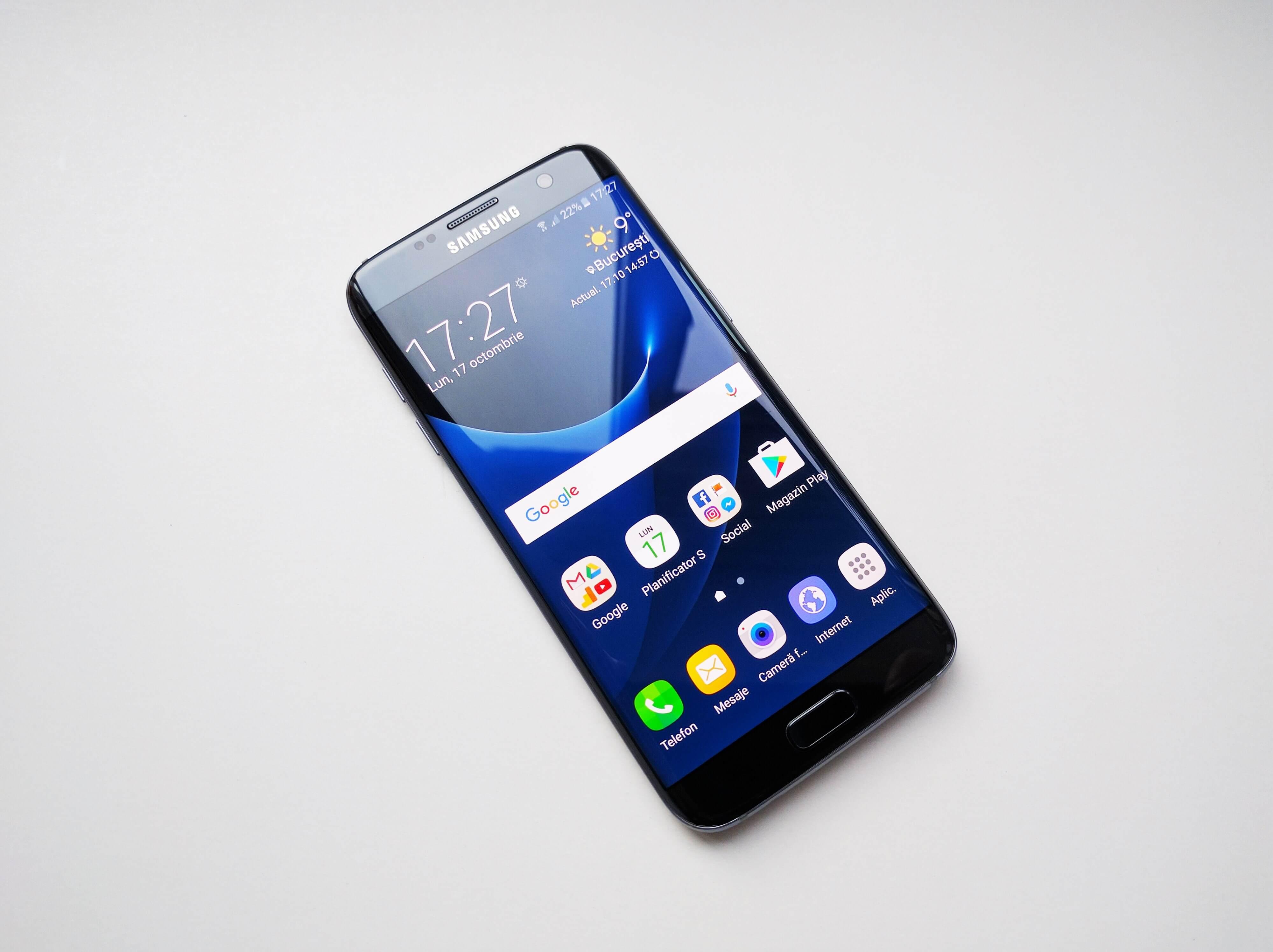 samsung galaxy s7 si s7 edge primesc actualizare la android 7 0 nougat. Black Bedroom Furniture Sets. Home Design Ideas