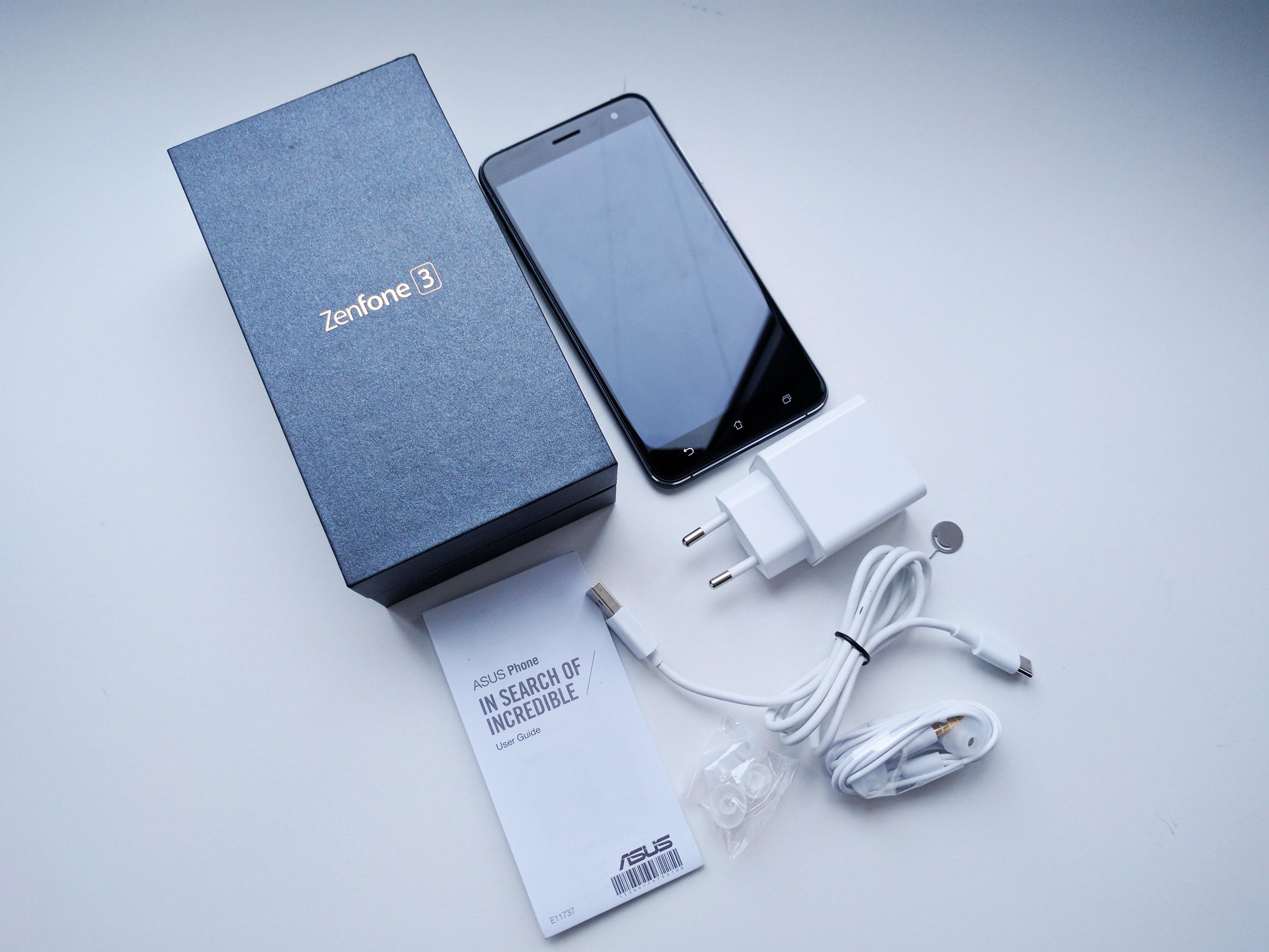 ASUS Zenfone 3 Ambalaj si Accesorii