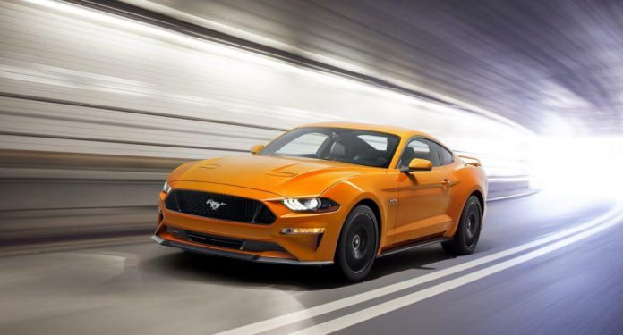 Ford Mustang 2018 facelift