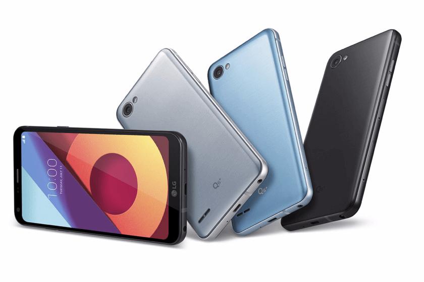 LG Q6+, Q6 si Q6α,