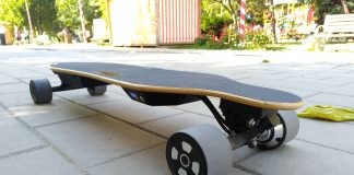 Longboard electric NEWBITS PRO Club X2 Review in Limba Romana