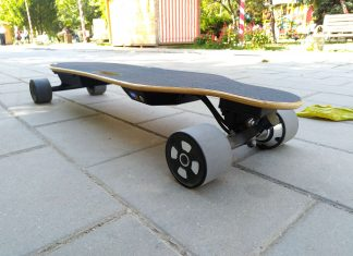 Longboard electric NEWBITS PRO Club X2 Review in Limba Romana