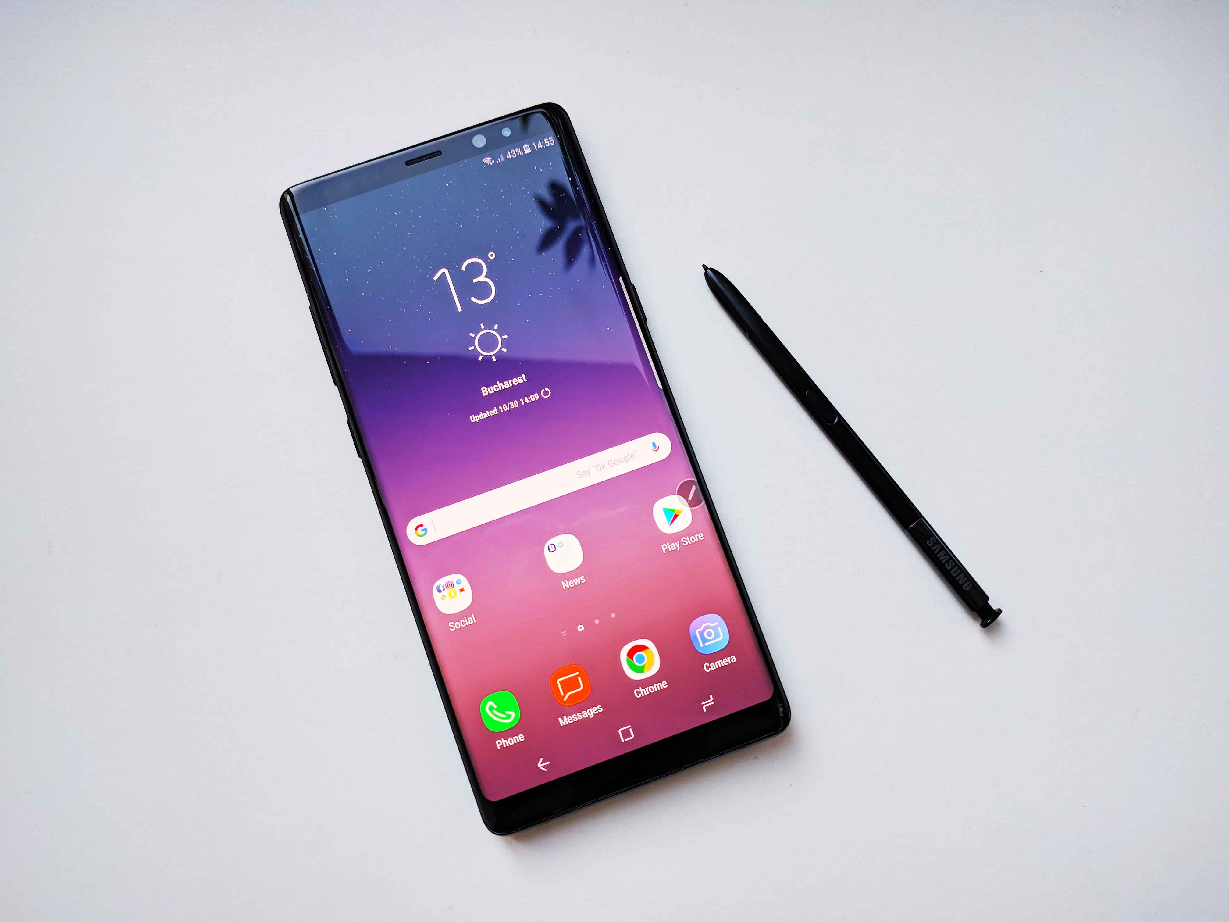 Samsung Galaxy Note8 - Foto 1 Review Limba Romana Galaxy Note9