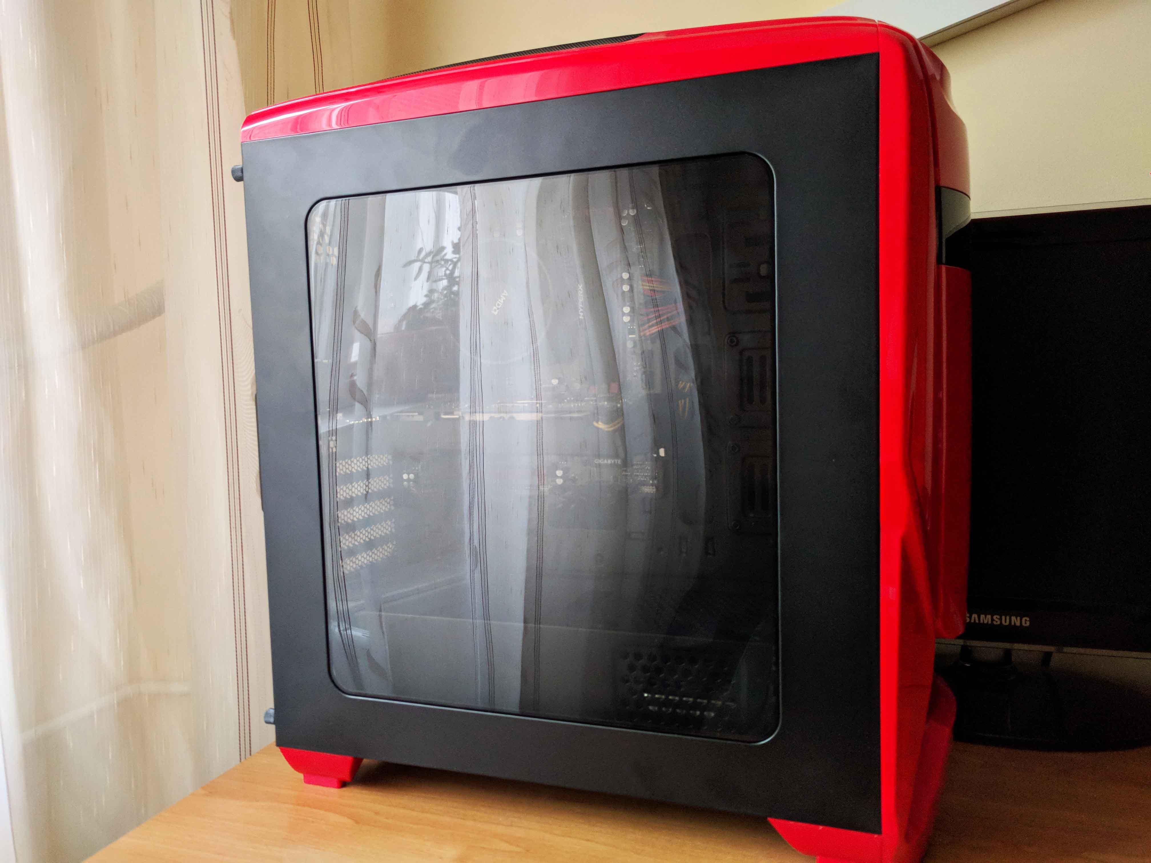 Sistem Gaming Red Shocktrooper by PC Garage - poza 2