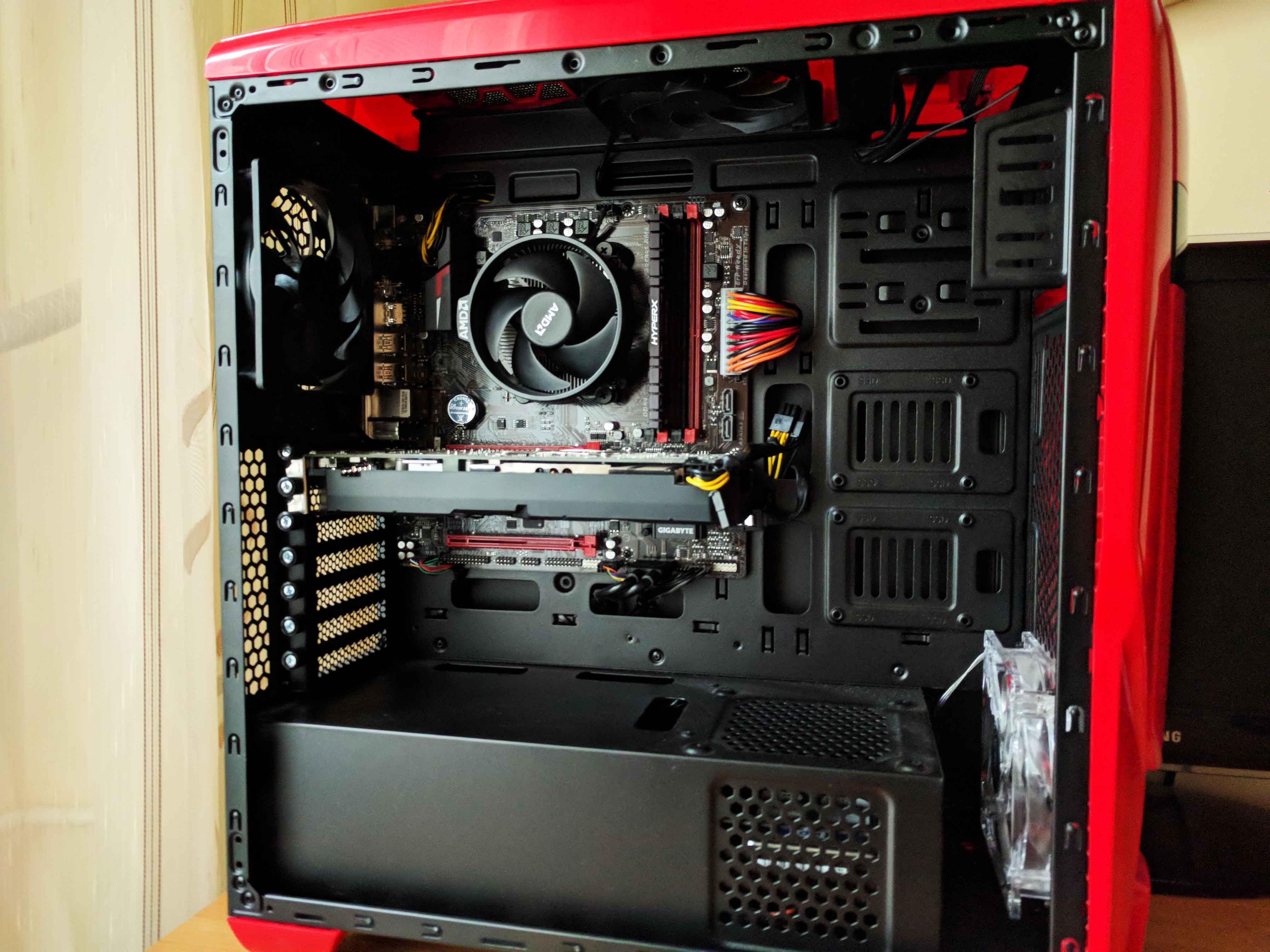 Sistem Gaming Red Shocktrooper by PC Garage - poza 6