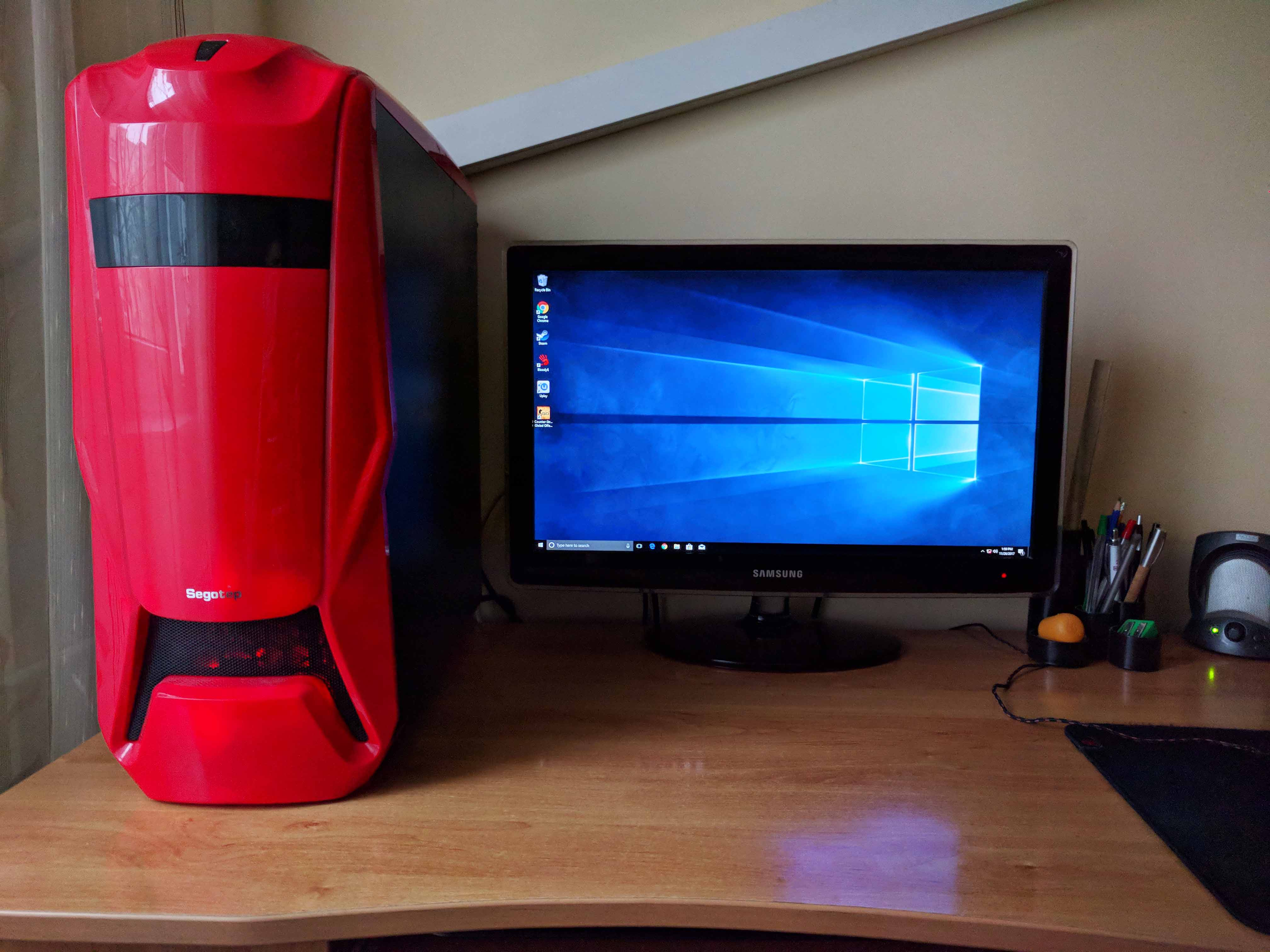 Sistem Gaming Red Shocktrooper by PC Garage - poza 1