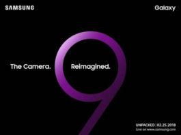 Samsung Galaxy S9 data de lansare