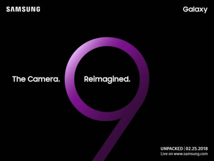 Samsung Galaxy S9 data de lansare