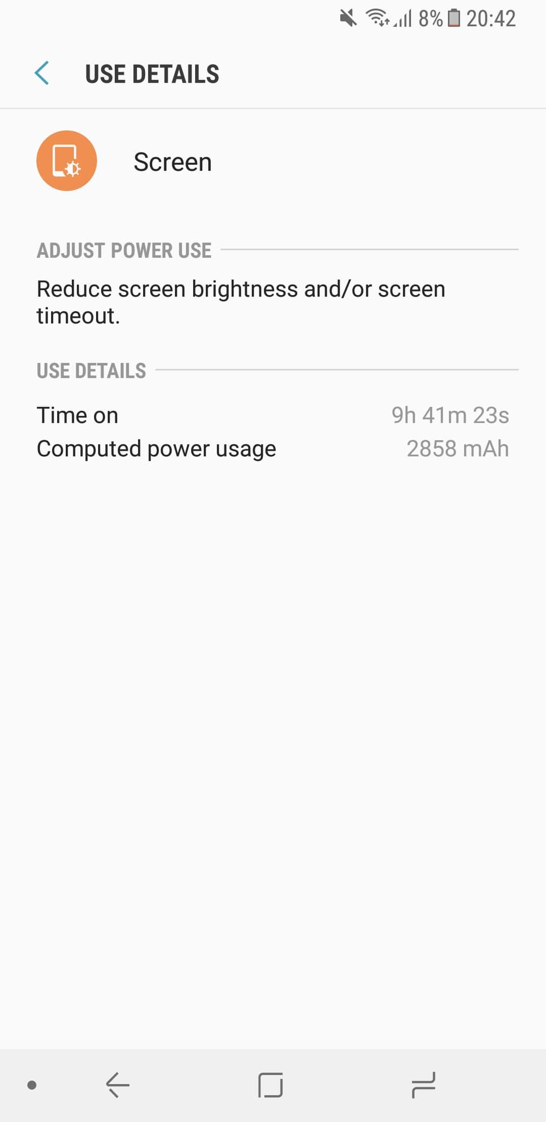 Galaxy A8 (2018) Autonomie si Baterie 3