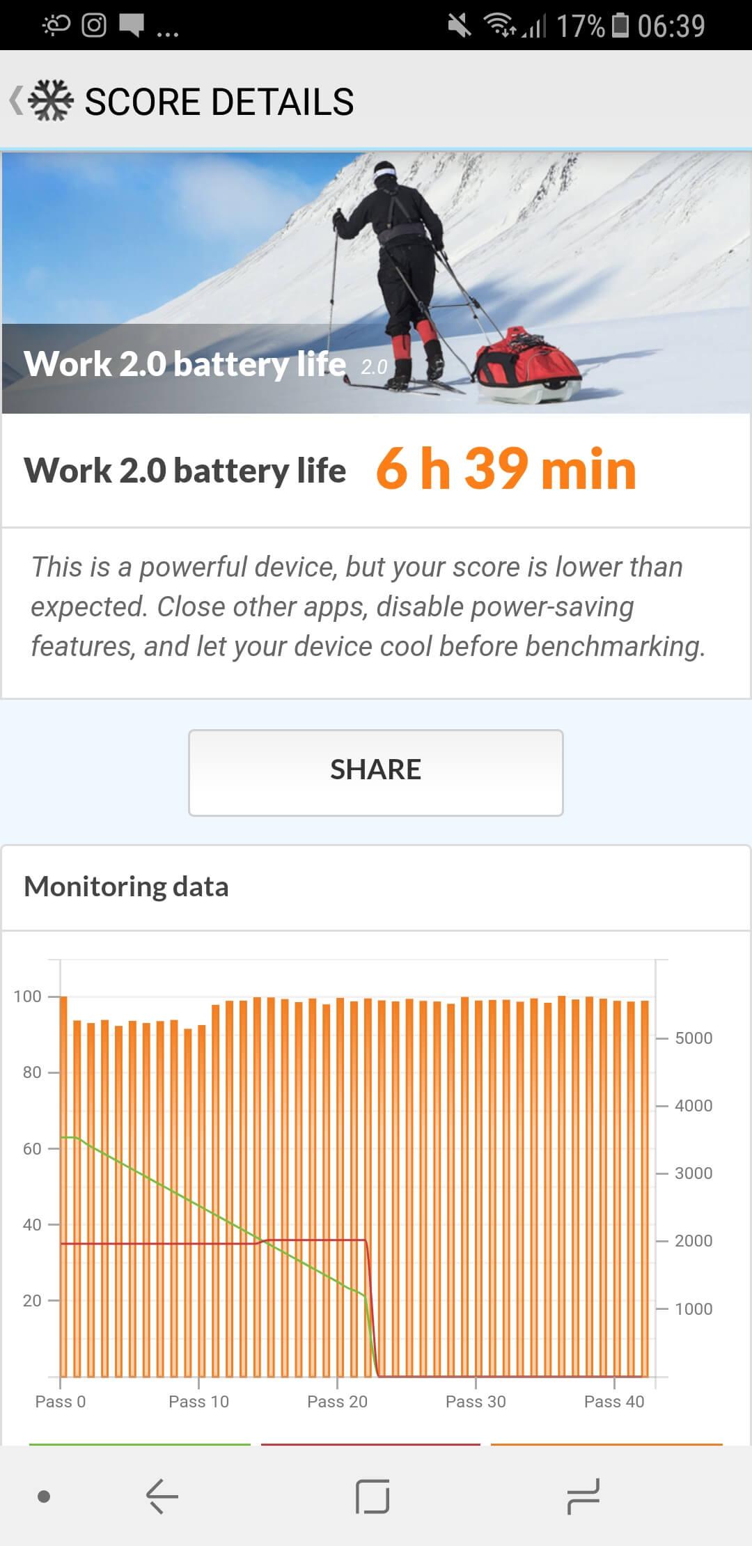Galaxy A8 (2018) Autonomie si Baterie 2