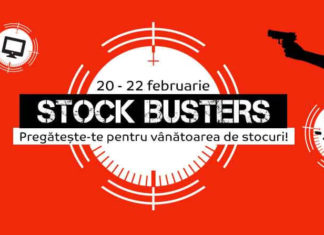 emag stock busters 20 februarie 2018 reduceri si promotii