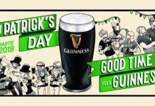 Guinness - St Patricks Day 2018