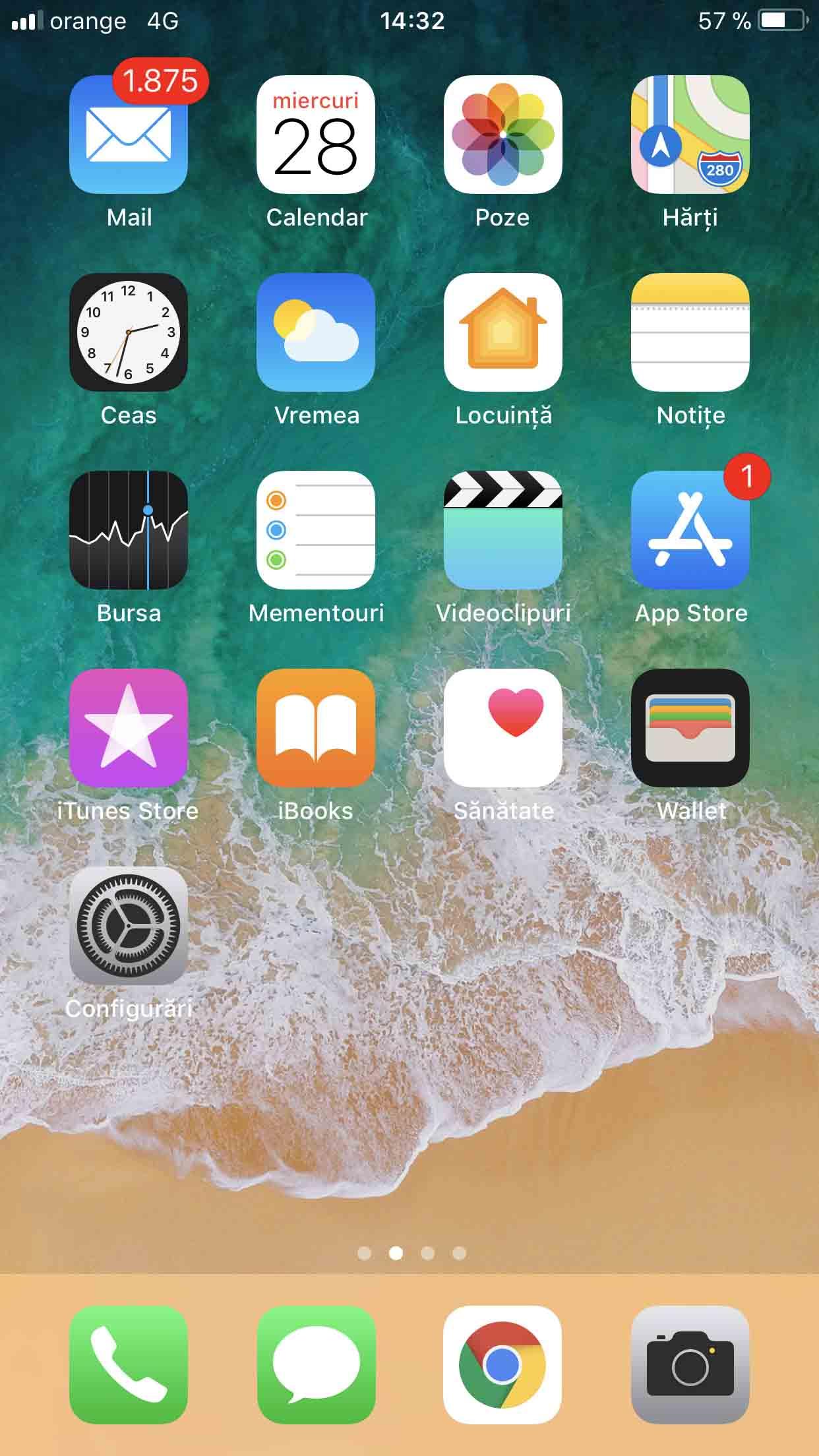 Apple iPhone 8 Review Romana si Pareri - Software iOS 1