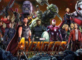 Răzbunătorii: Războiul Infinitului - Avengers: Infinity War.