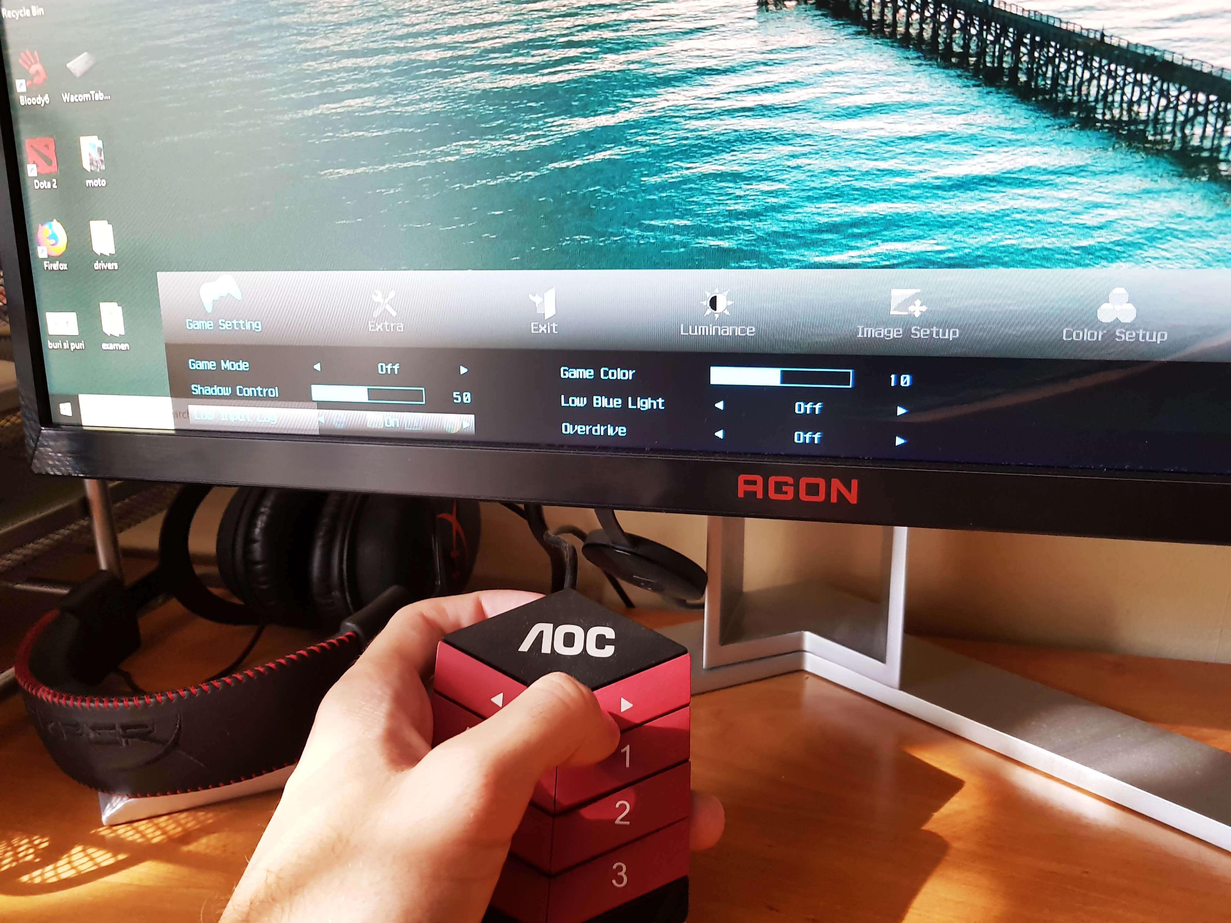 AOC Gaming AG251FZ Review Romana si Pareri - Foto 4