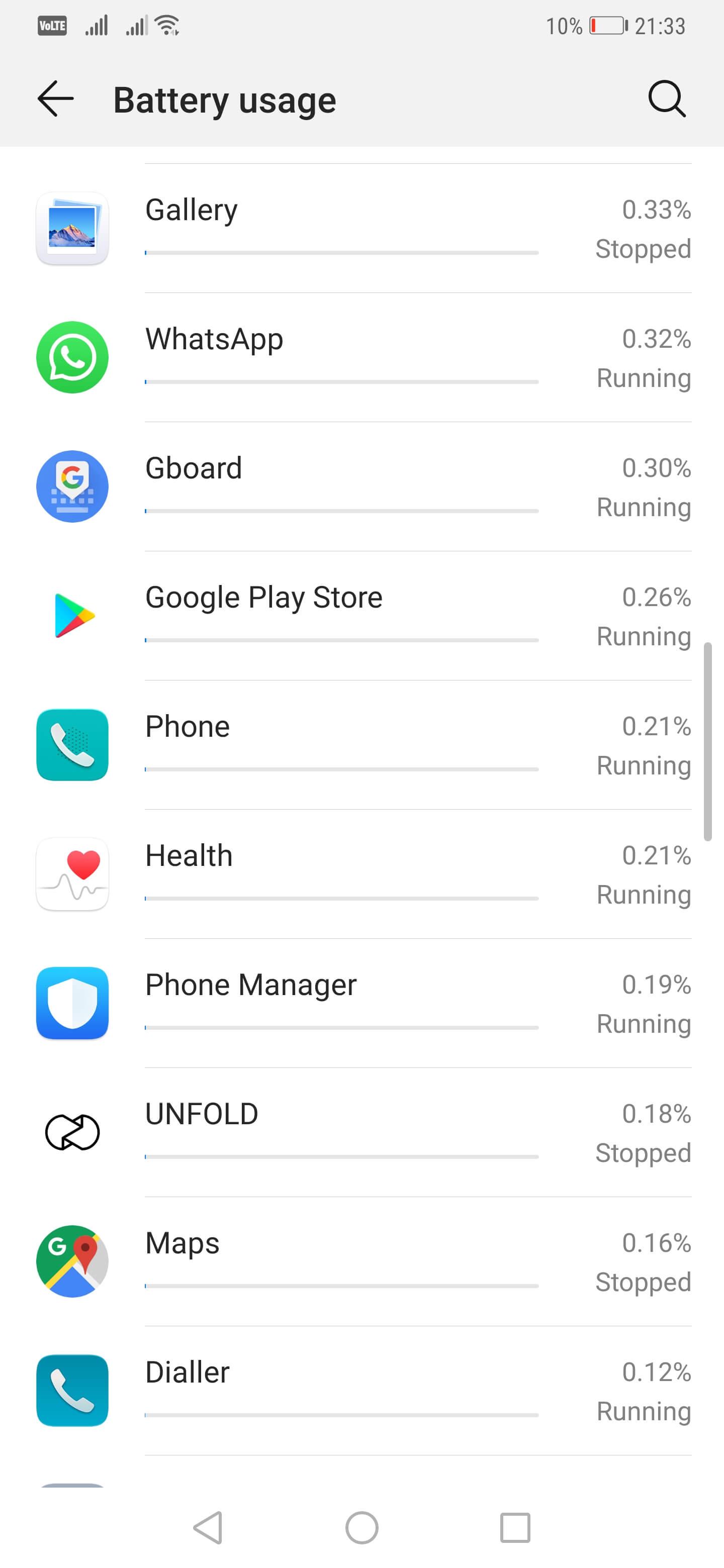 Cat tine bateria pe Huawei Mate 20 Pro - Baterie si autonomie 2