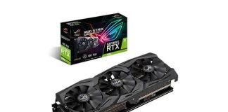 ASUS anunta plăcile video ROG Strix, Dual si Turbo GeForce RTX 2060