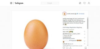World Record Egg Instagram ou