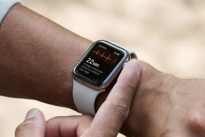 Apple Watch Series 4 EKG in Romania