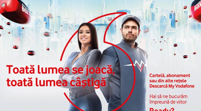 Cum pot utilizatorii cartelei Vodafone sa castige bani, masini si telefoane