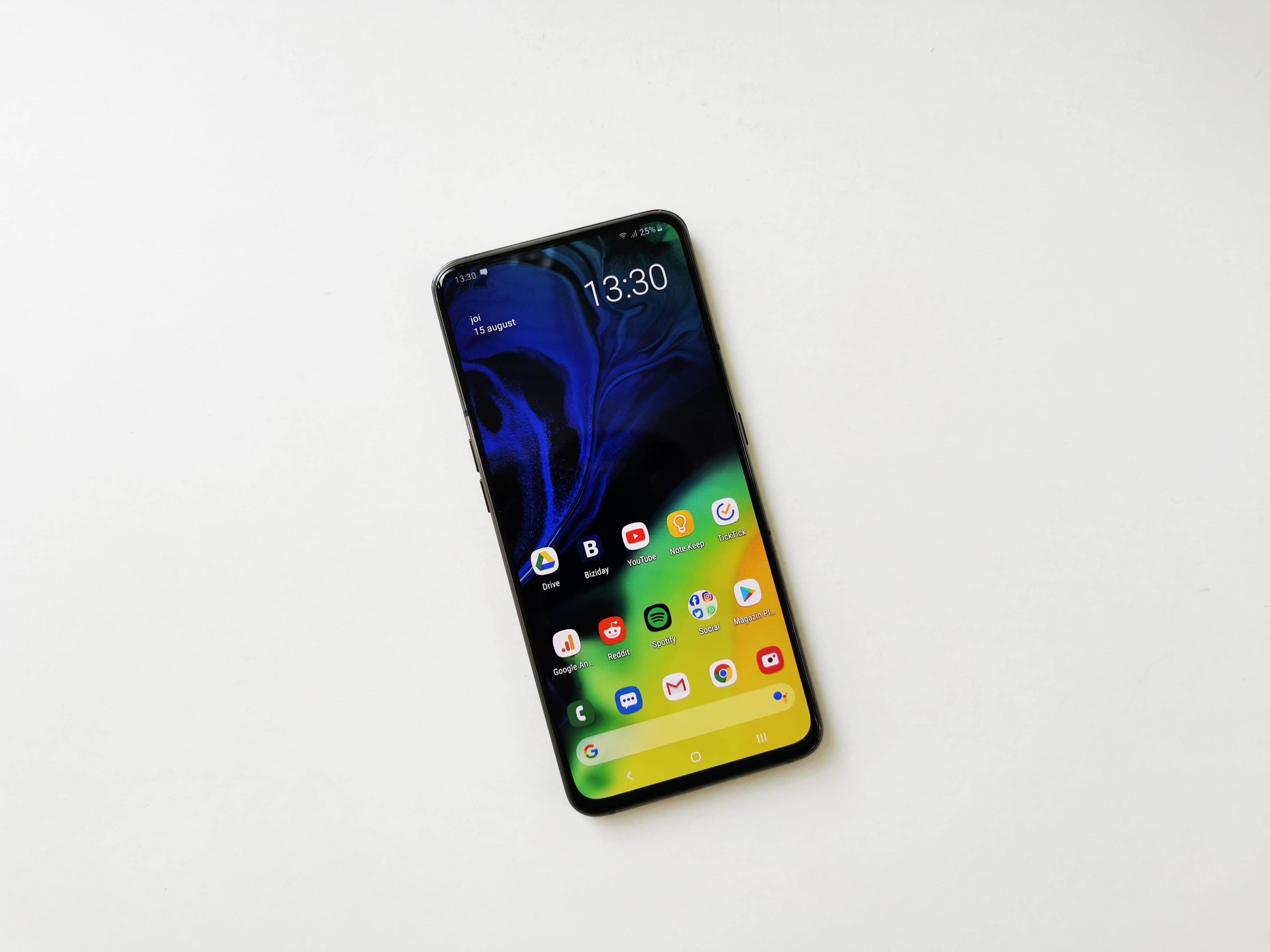 Samsung Galaxy A80 Review Romana si Pareri - Foto 3