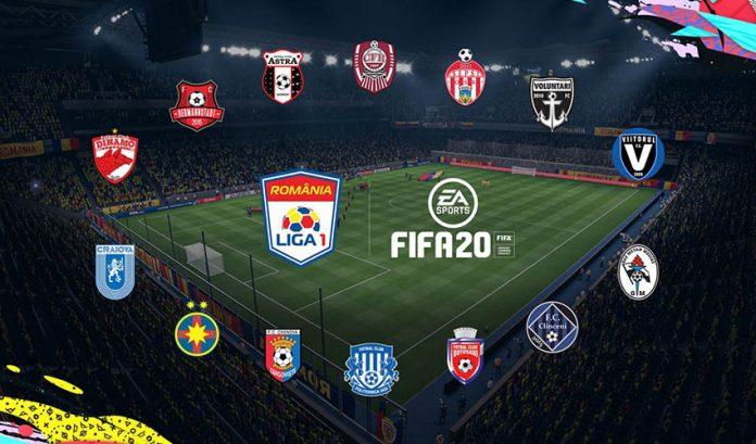 Liga 1 FIFA 20 Romania