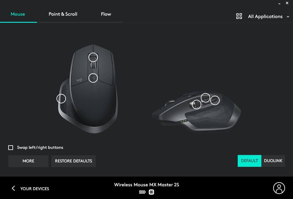 Logitech MX Master 2S Review Romana si Pareri - Logitech Options