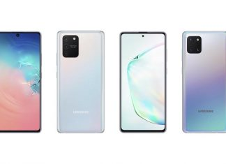 Samsung Galaxy S10 Lite si Note10 Lite