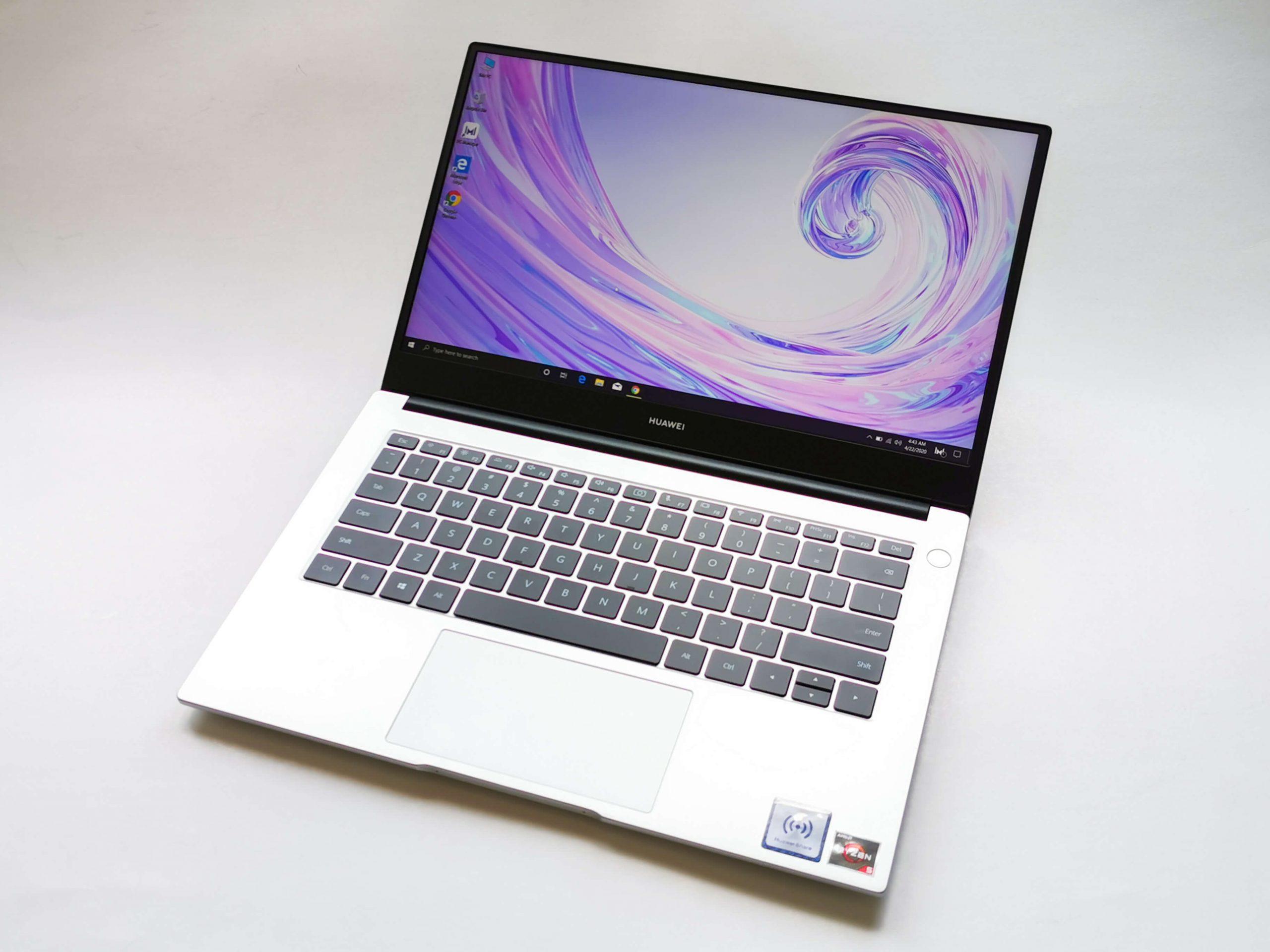 Cum itipoate creste productivitatea un laptop de zi cu zi - Huawei MateBook D14