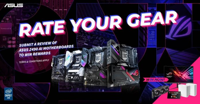 ASUS anunță campania globală Rate Your Gear
