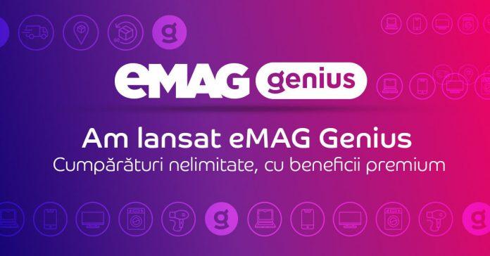 Ce reprezinta serviciul eMAG Genius