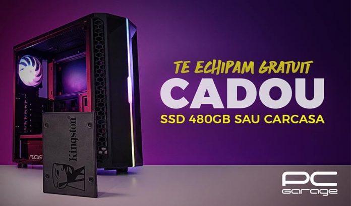 PC Garage oferă cadou un SSD de 480GB sau o carcasă la configurarea unui PC nou