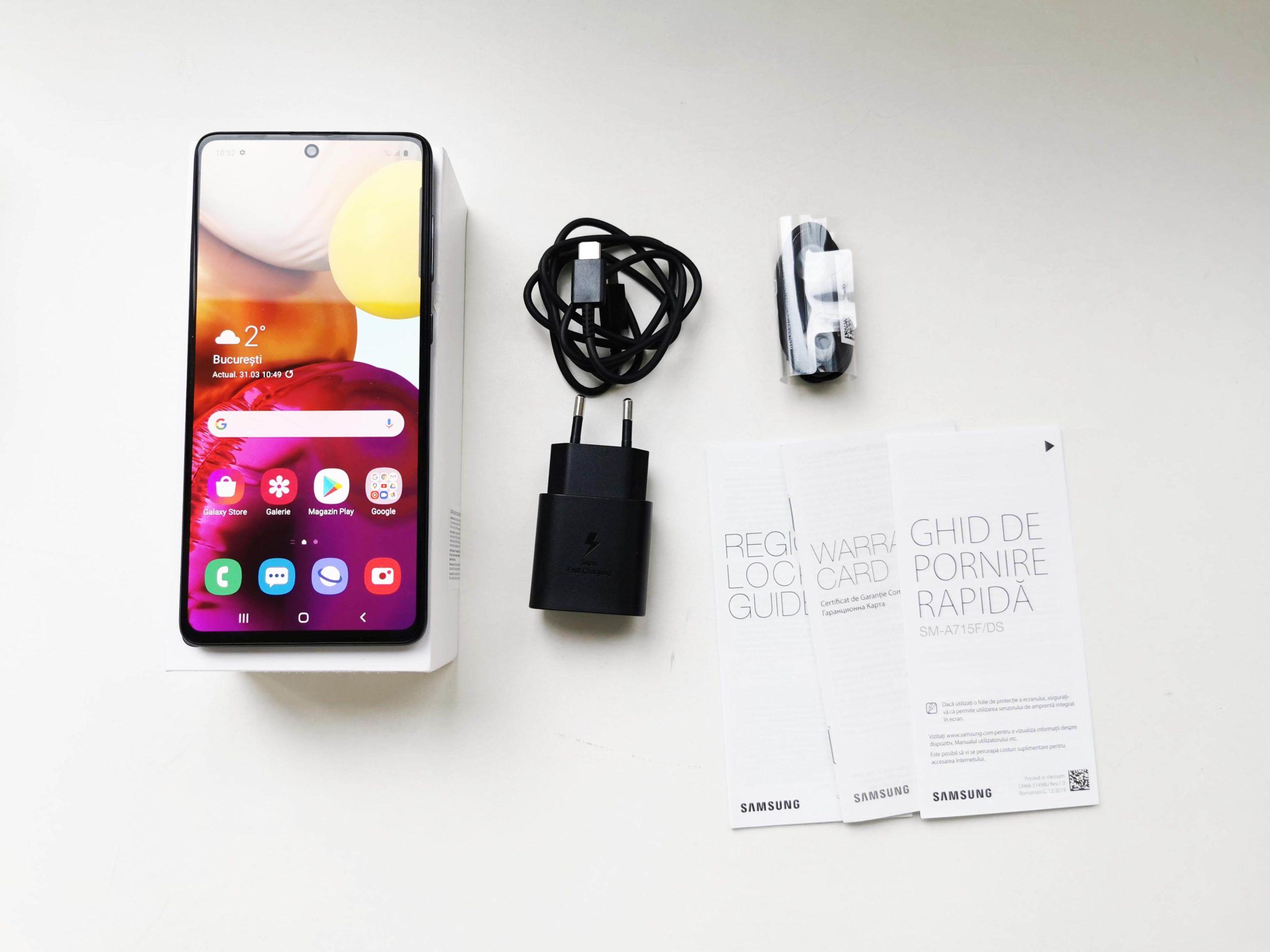 Samsung Galaxy A71 Review Romana si Pareri - 5