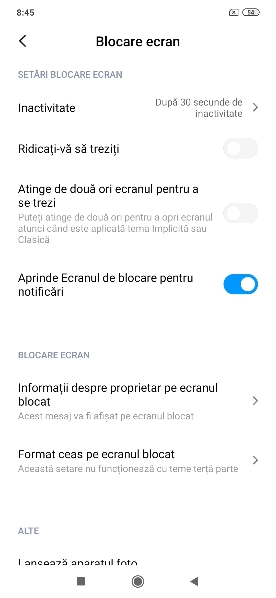 Xiaomi Redmi Note 8T Review Romana si Pareri - Screenshot 4