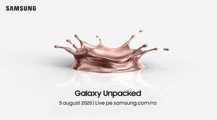 Evenimentul Galaxy Unpacked 2020 va avea loc pe data de 5 August