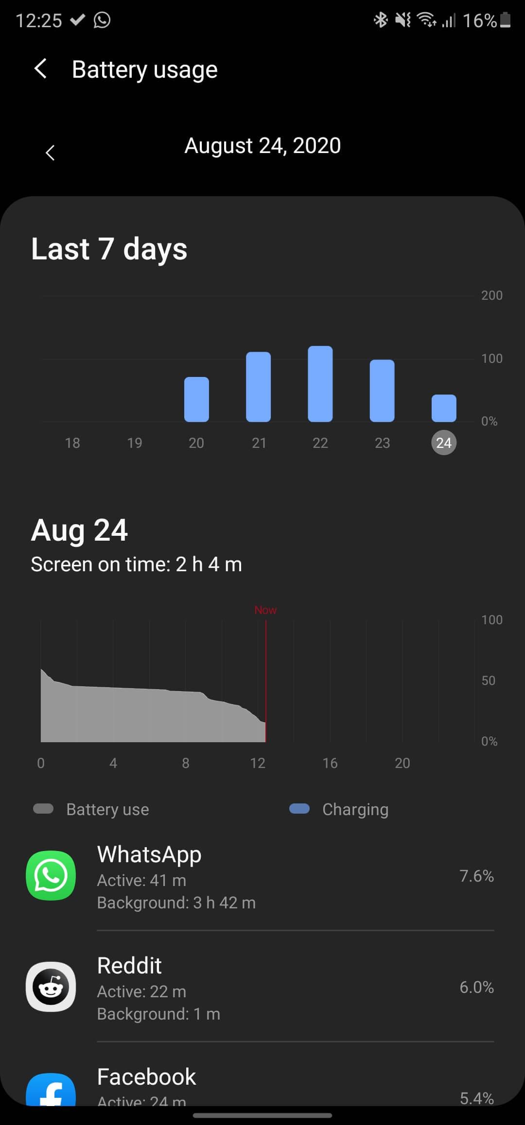 Cat tine baterie pe Samsung Galaxy Note20 Ultra - 3