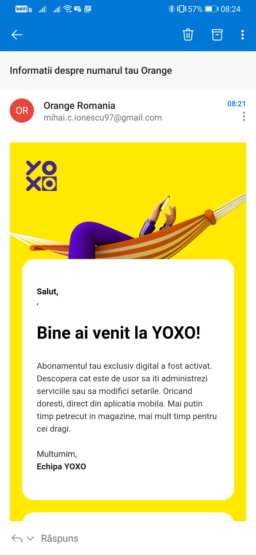 Tot ce trebuie sa știi despre serviciul YOXO - Configurare YOXO 2