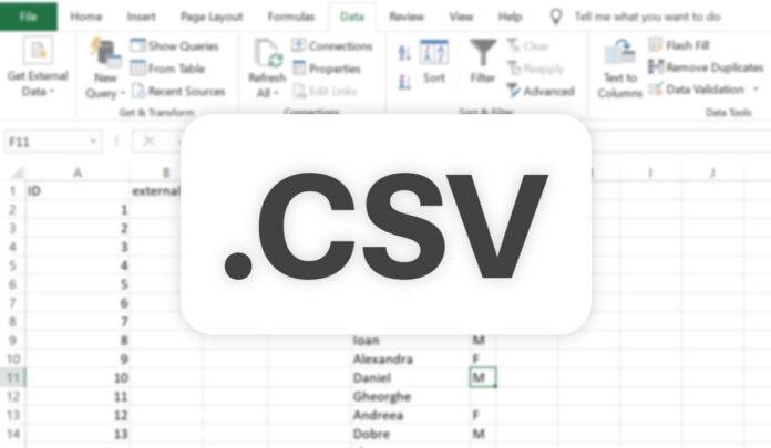 Cum deschizi un fisier CSV in Excel