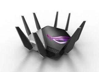 Republic of Gamers a lansat Rapture GT-AXE11000, primul router WiFi 6E din lume