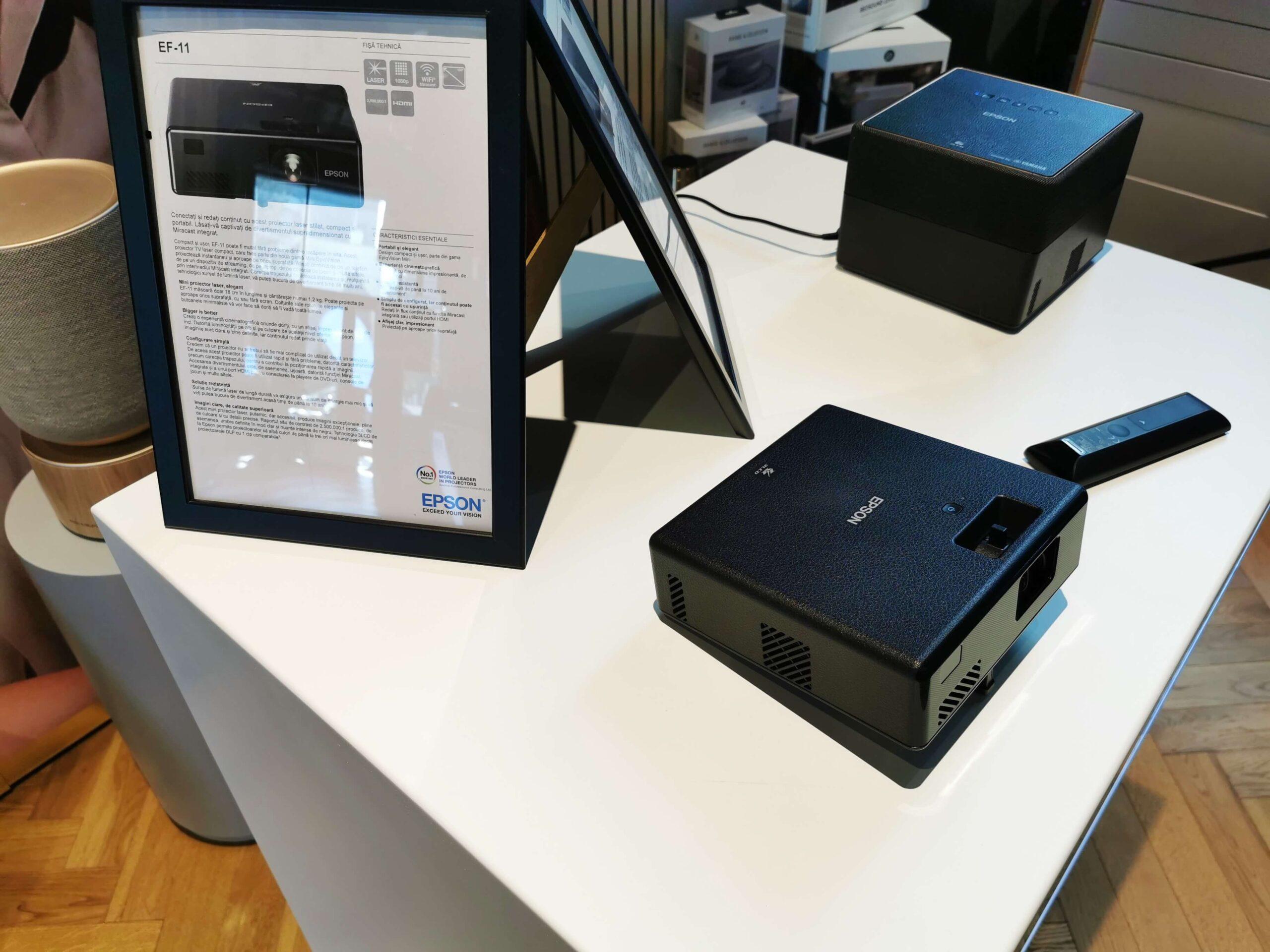Noi modele de videoproiectoare pentru acasă au fost prezentate de Epson