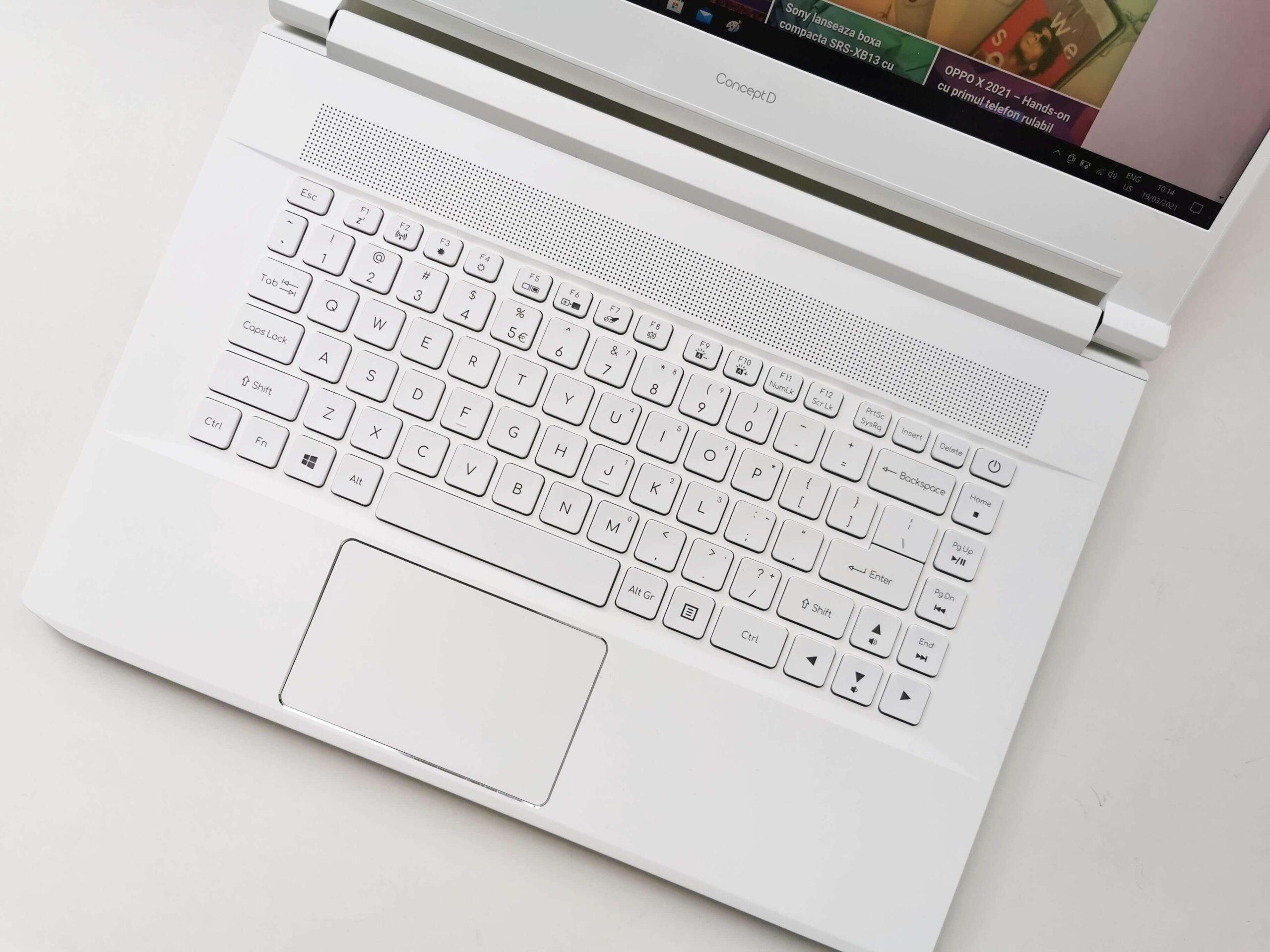 Acer ConceptD 7 Review Romana si Pareri - 1