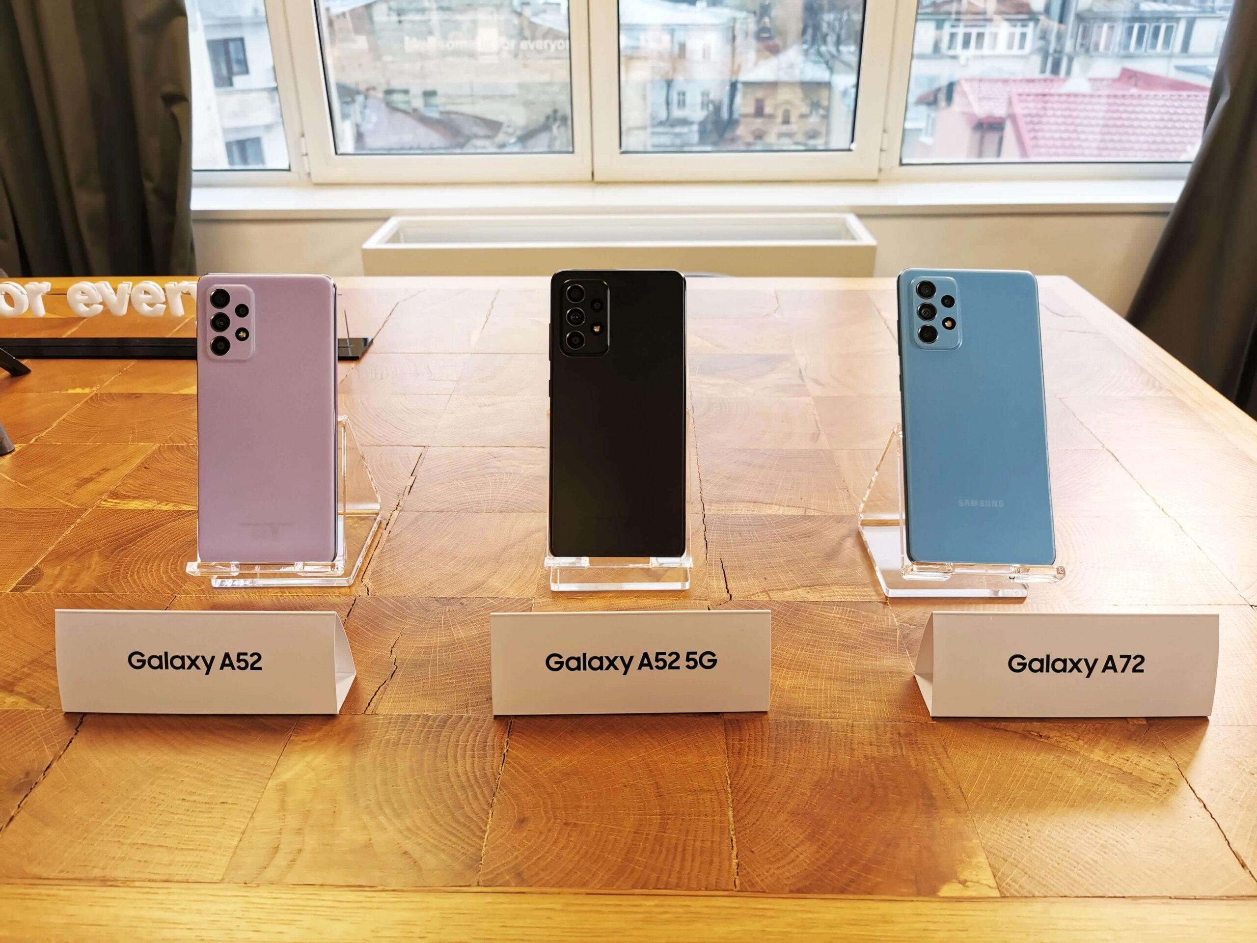 Primele impresii cu Samsung Galaxy A52, A52 5G și A72