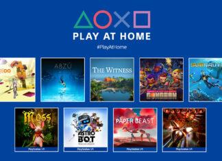 Noi jocuri gratuite disponibile prin Play at Home, anuntate de PlayStation