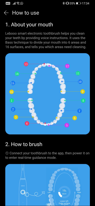 Cum sa te speli pe dinți inteligent cu Lebooo Smart Sonic - 4