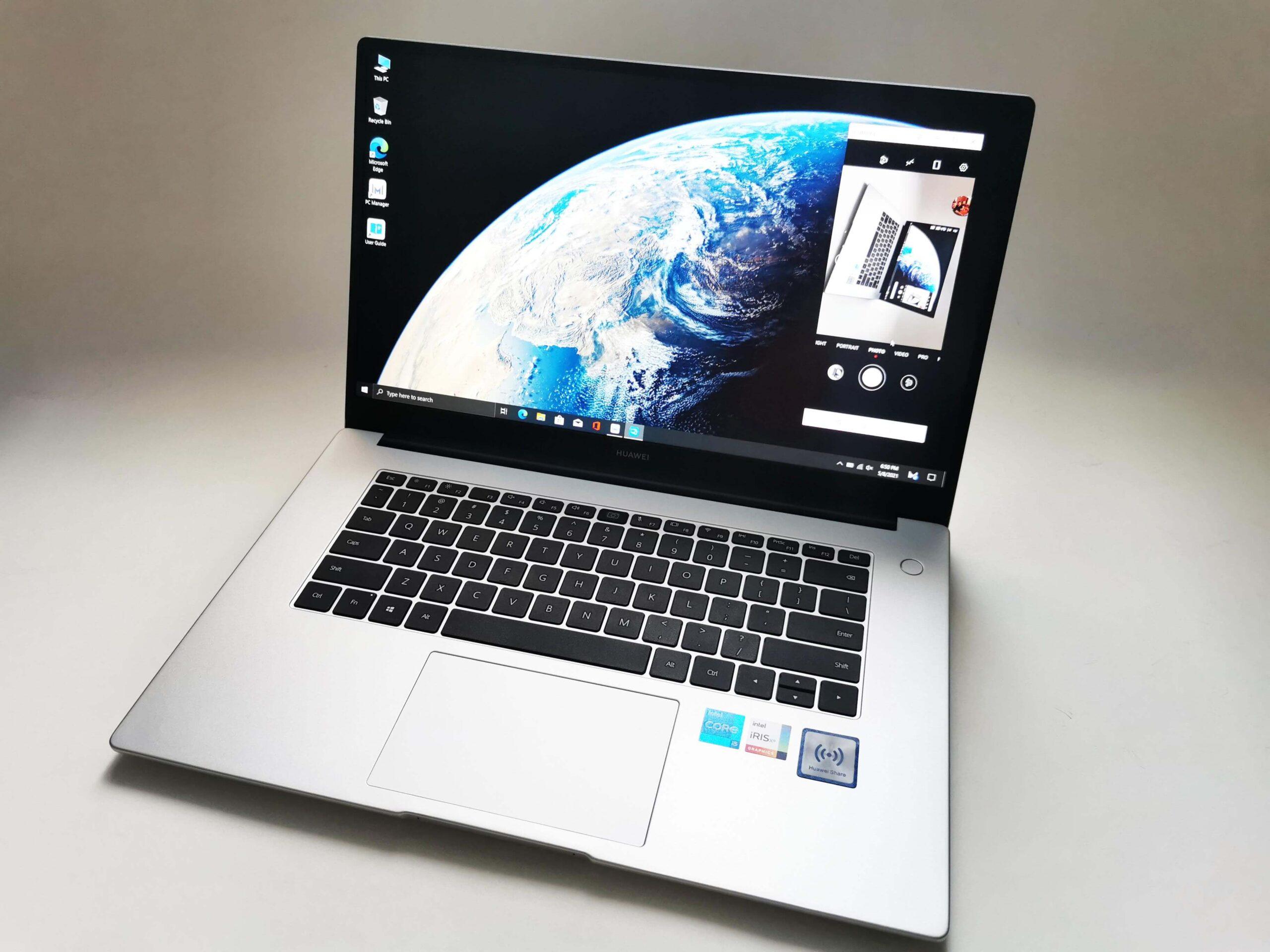 Huawei MateBook D 15 2021 Review Romana 3