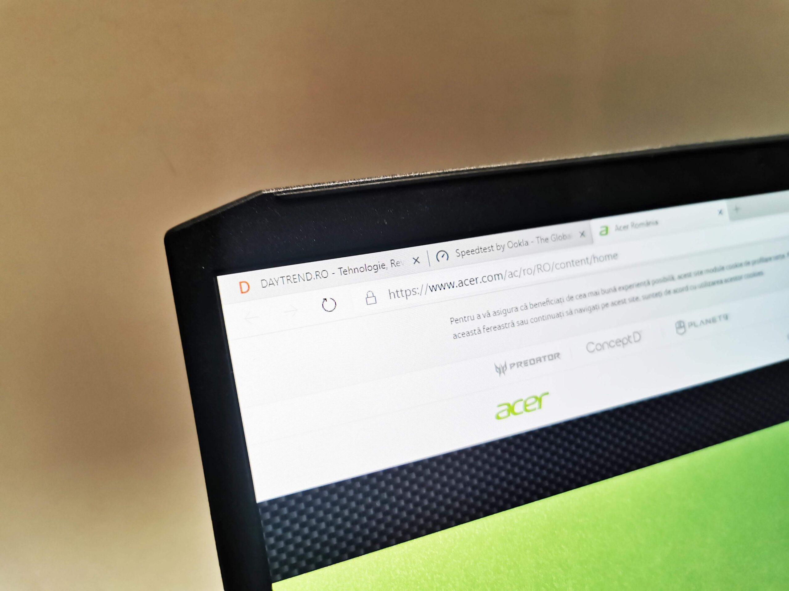 Acer Predator Helios 300 Review Romana 2