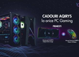 PC Garage oferă doua cadouri AQIRYS la orice PC Gaming